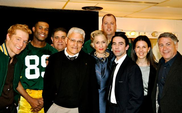 The Company and Vince Lombardi, Jr. (Photo: www.sulltography.com)