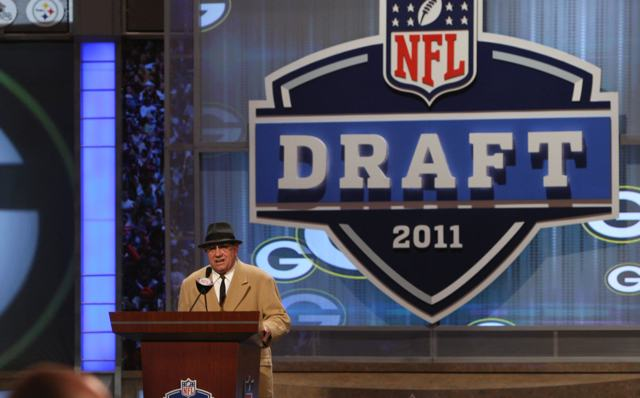 Dan Lauria as Coach Lombardi at the NFL Draft