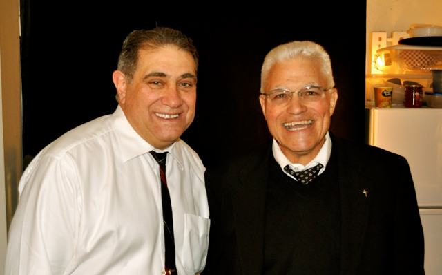 Dan Lauria and Vince Lombardi, Jr. (Photo: www.sulltography.com)