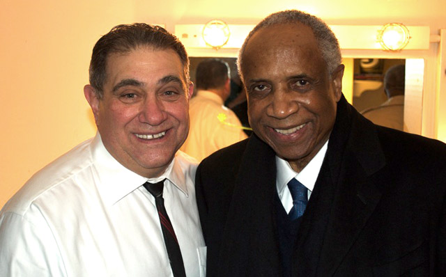 Dan Lauria and Frank Robinson