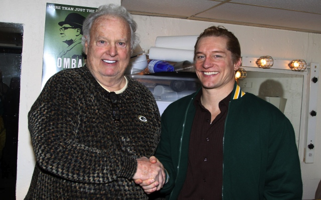 Paul Hornung and Bill Dawes Photo Credit: Bruce Glikas, Broadway.com