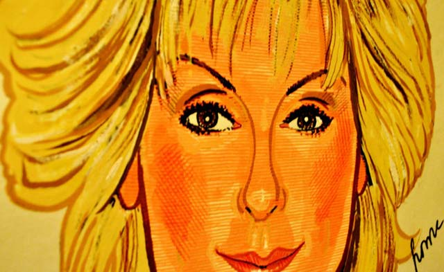 Judith Light's Caricature