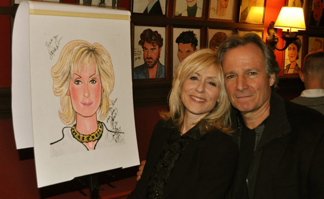 Judith Light and Robert Desiderio