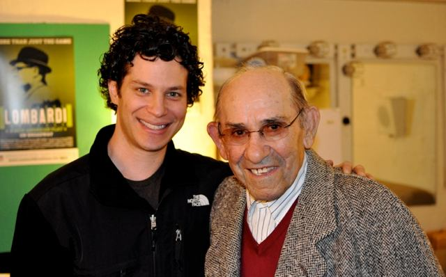 Director Tommy Kail & Yogi Berra (Photo: www.sulltography.com)